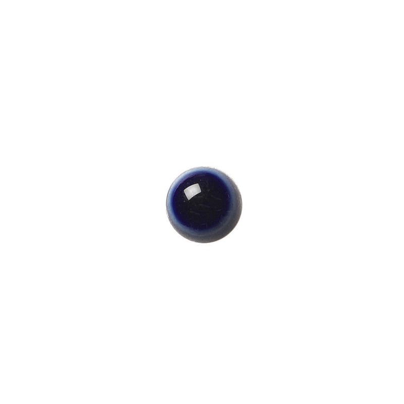 セラミックポストピアス 丸・ぷっくり紺(KO-P3)