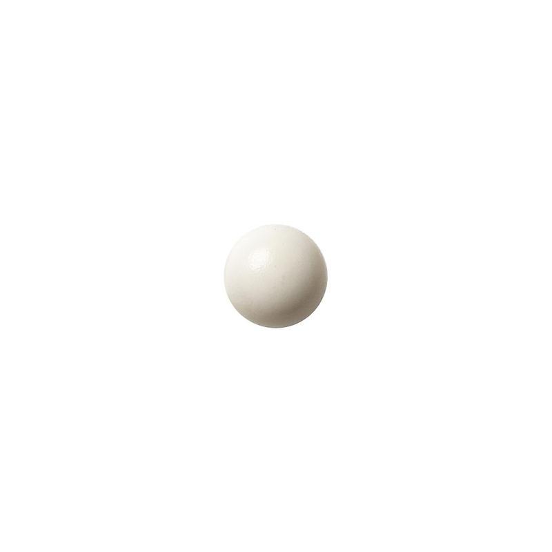 セラミックポストピアス 丸・マットホワイト(KO-M1)