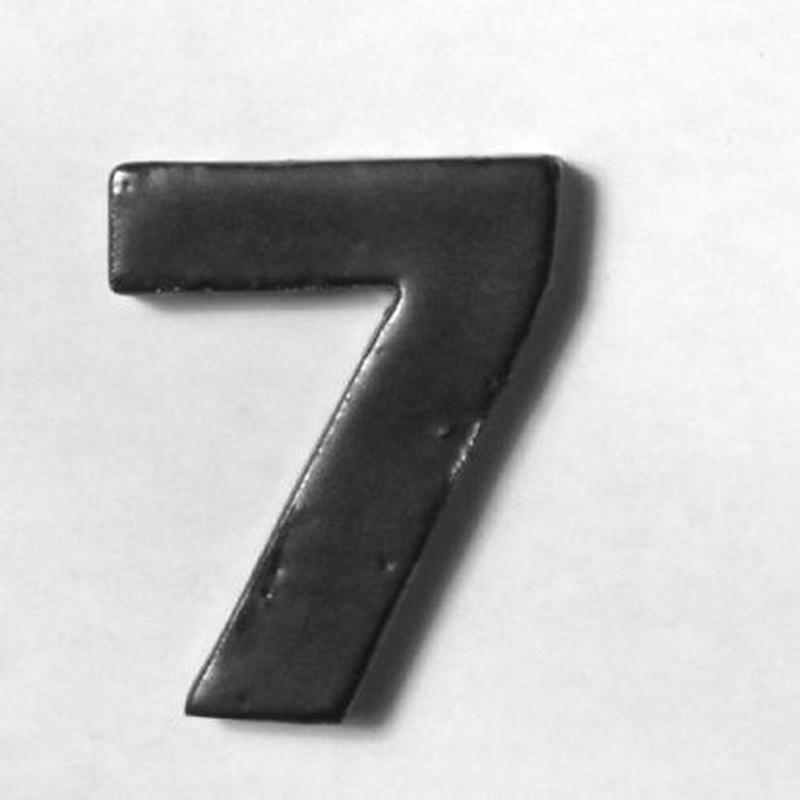 NUMBER TILE  7