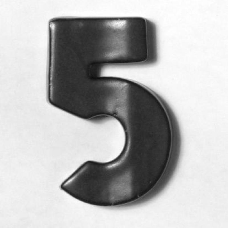 NUMBER TILE  5