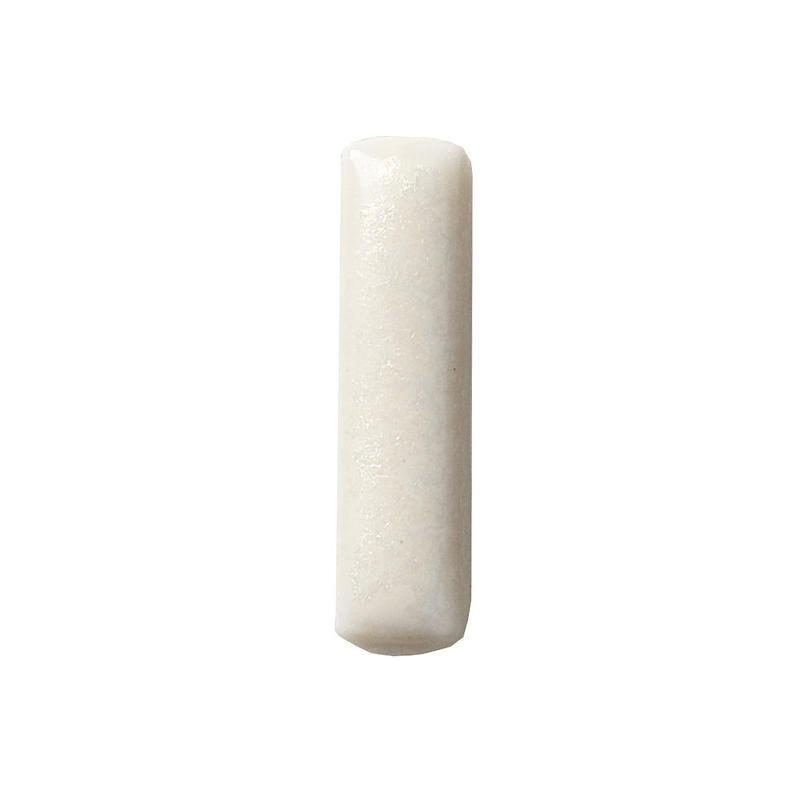 セラミックポストピアス 四角・マットホワイト(SHI-M1)