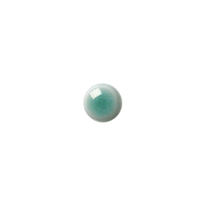 セラミックポストピアス 丸・すっきりグリーン(KO-S6)