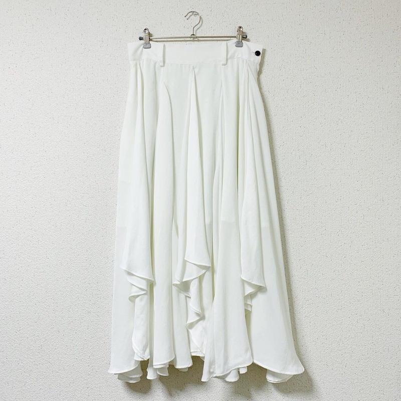 【4/26~5/25 WEB注文受付中】さんざめくスカート ( white )