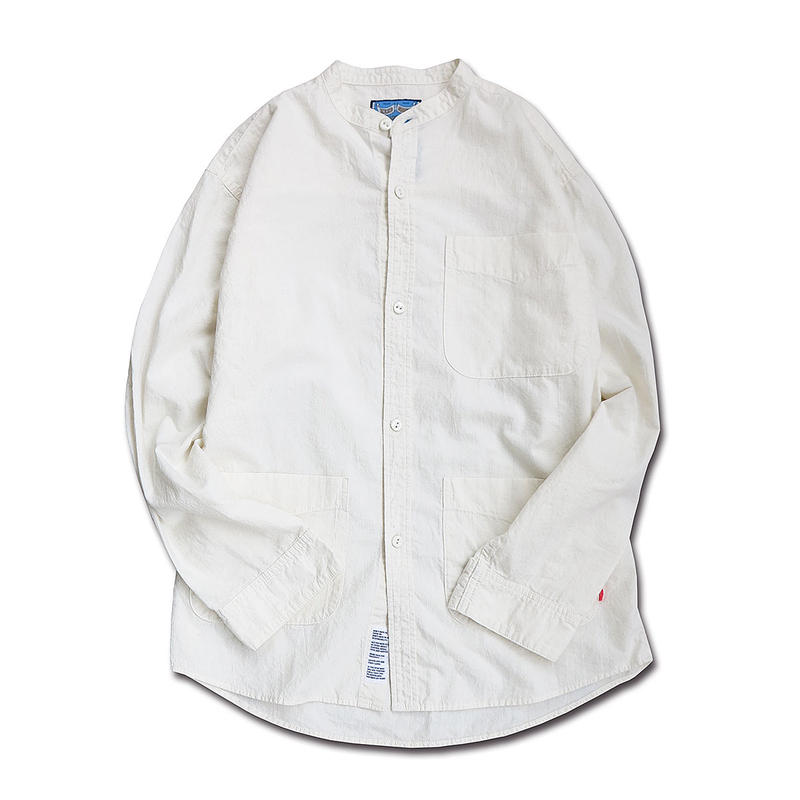 STUDIO WORK SHIRTS (OFF WHITE)