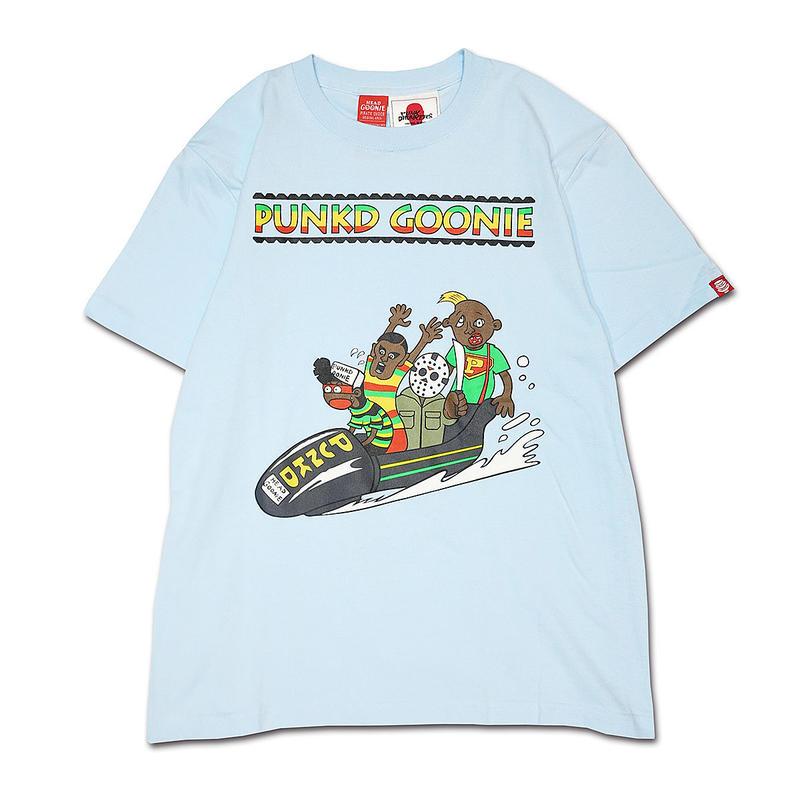 "HEADGOONIE x PUNKDRUNKERS ""PUNKD GOONIE"" T-shirts"