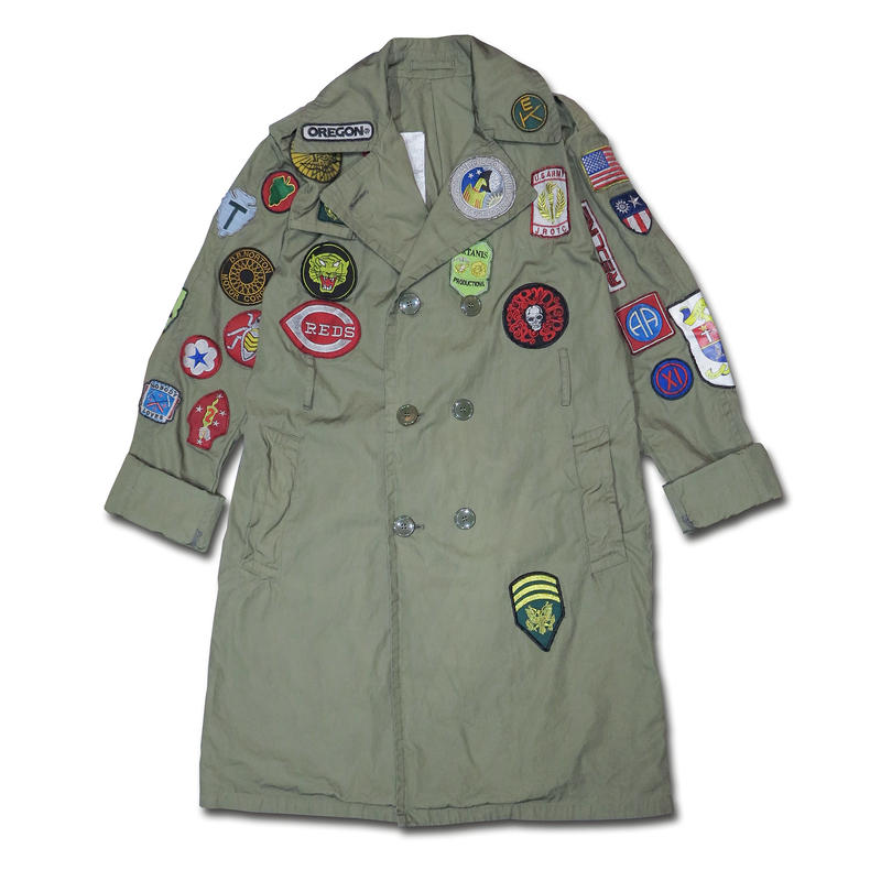 1985 ADVENTURE ARMY COAT