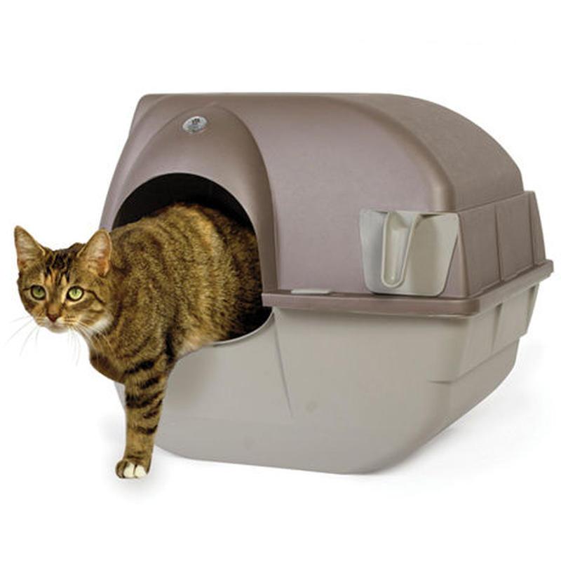 Omega Paw 回転式 清掃機能付き 猫トイレ