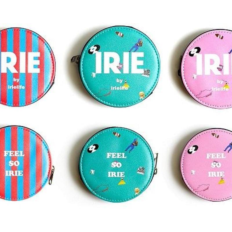 IRIE ROUND COIN CASE -IRIEby irielife-(Stripe)