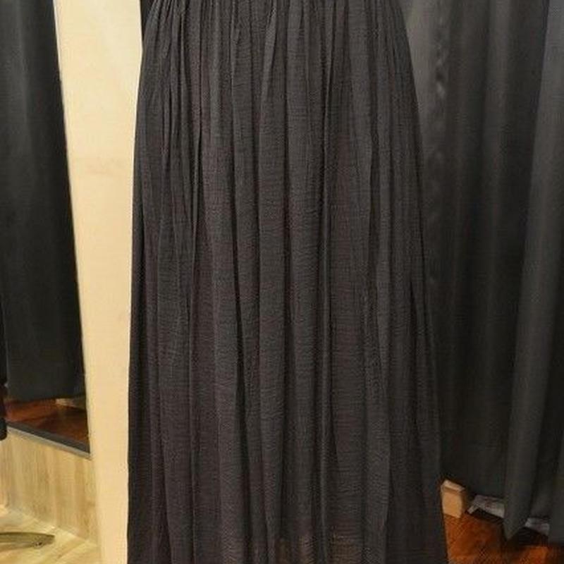 ソフトシワ加工スカート