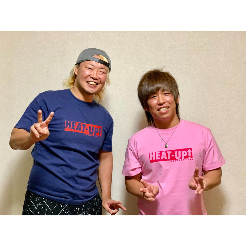 【NEW】BOXロゴTシャツ【ピンク×ホットピンク】