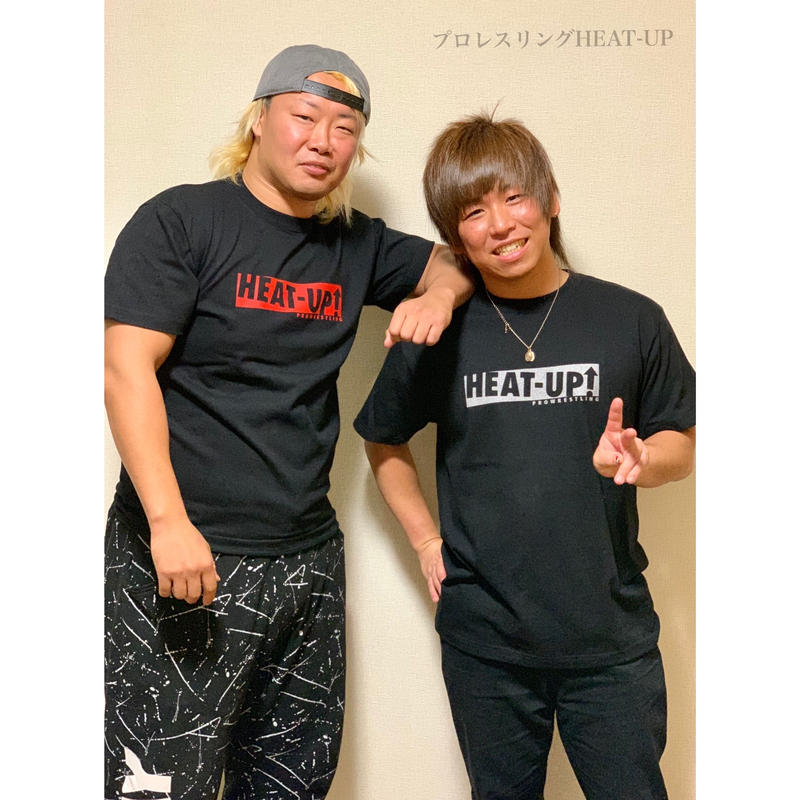 【NEW】BOXロゴTシャツ【ブラック×レッド】