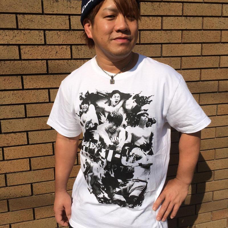 【ラスト1枚】HEAT-UPフォトTシャツ【ホワイト】