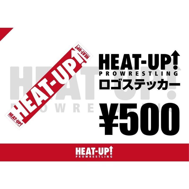 【NEW】HEAT-UPロゴステッカー