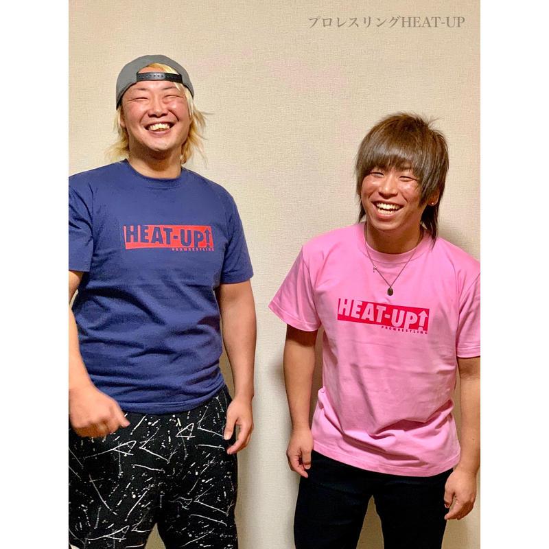 【NEW】BOXロゴTシャツ【インディゴ×レッド】