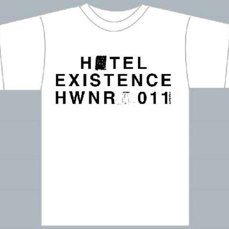 HOTEL  Tシャツ/ホワイト(1189-WH)