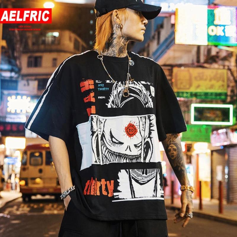 ストリート系Tシャツ