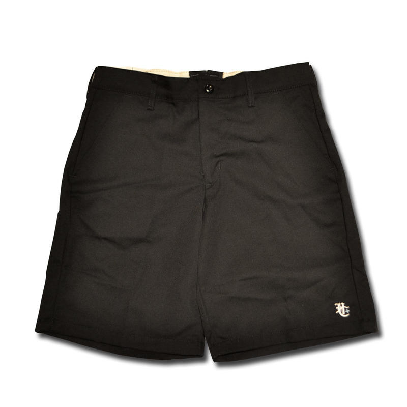 HARDEE THE KNEE SHORT PANTS BLACK