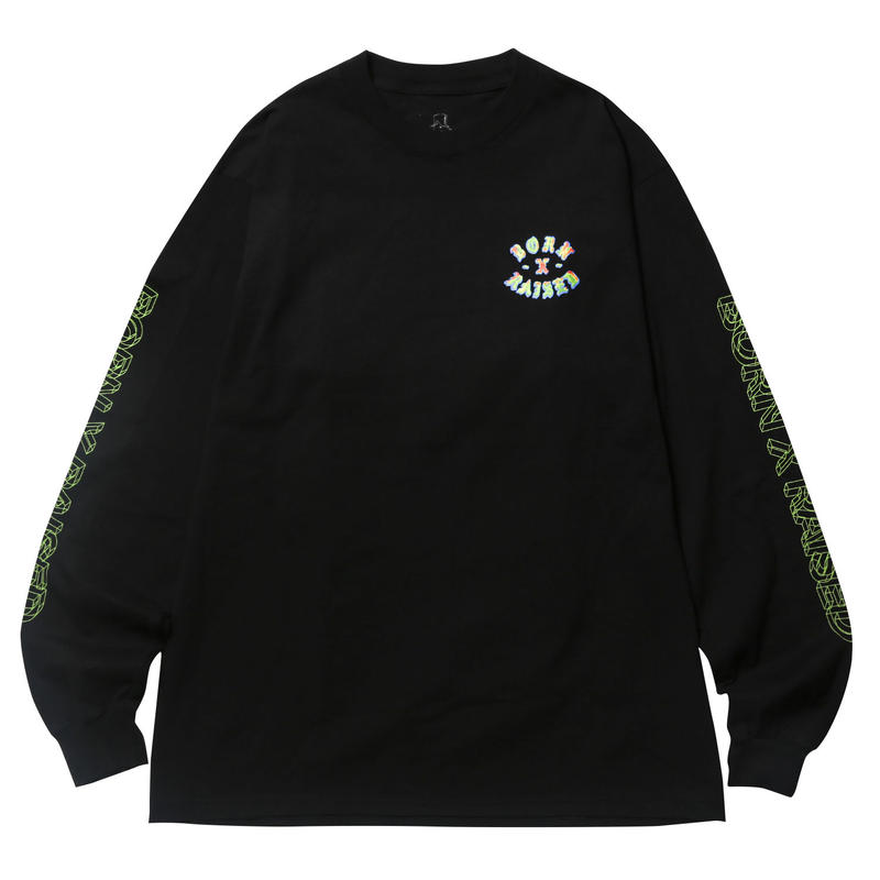BORN X RAISED HEAT SEEKER L/S TEE