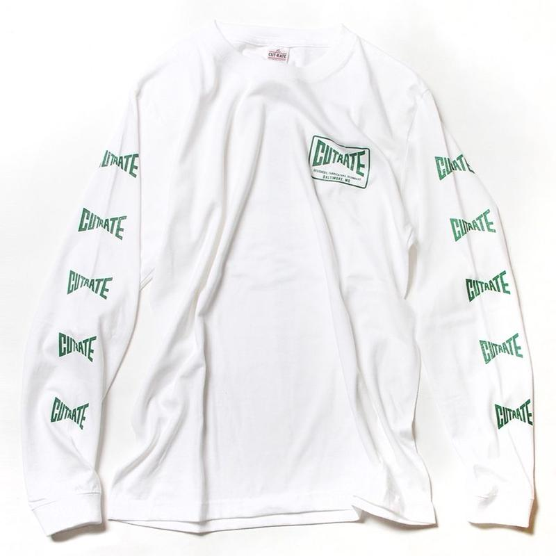 CUTRATE KNIFE L/S T-SHIRT WHITE