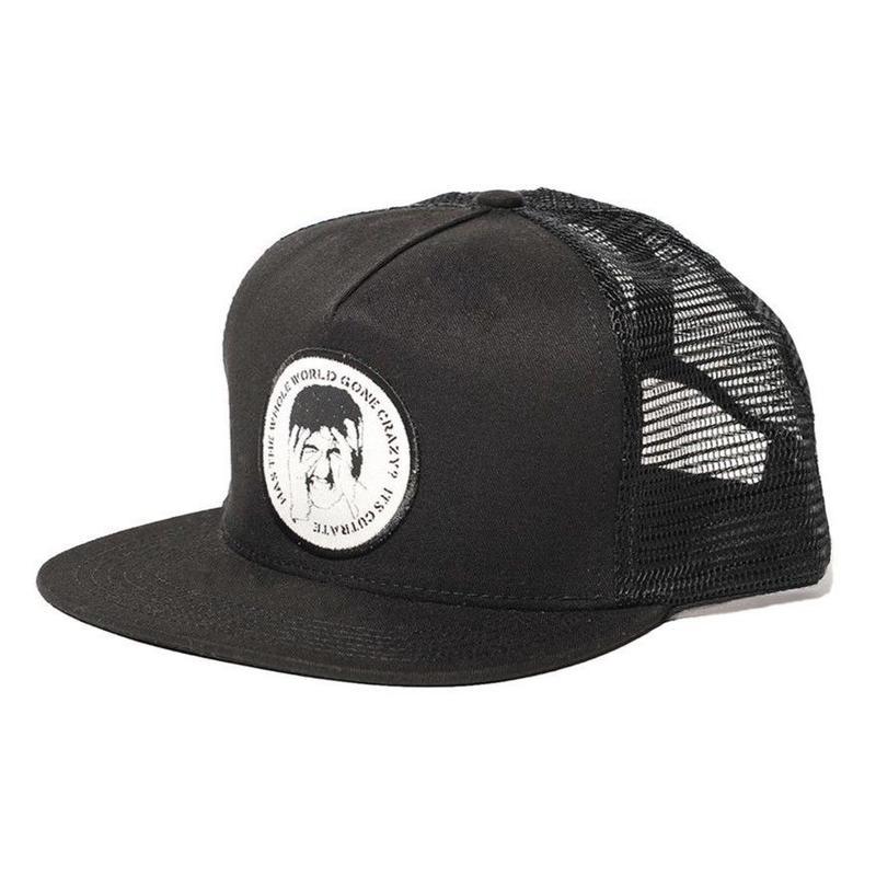 CUTRATE  WAPPEN MESH CAP BLACK CR-18SS072