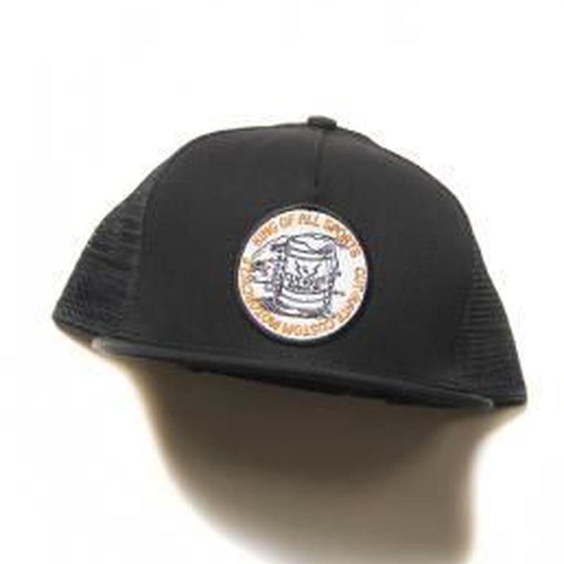 CUTRATE BEER WAPPEN MESH CAP BLACK.YELLOW