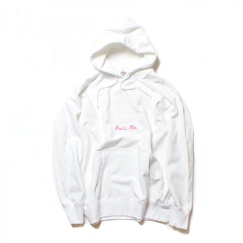 CUTRATE FLAME PARKA WHITE