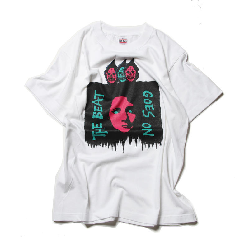 CUTRATE THE BEAT T-SHIRT WHITE