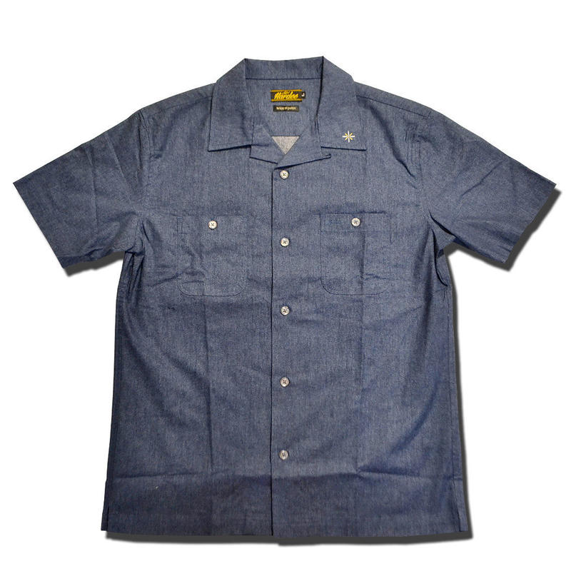 HARDEE NGHT S/S SHIRT NAVY