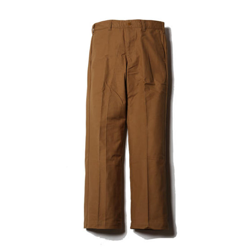 OLD GERMANY CLOTH CHINO PANTS CAMEL CR-16S026