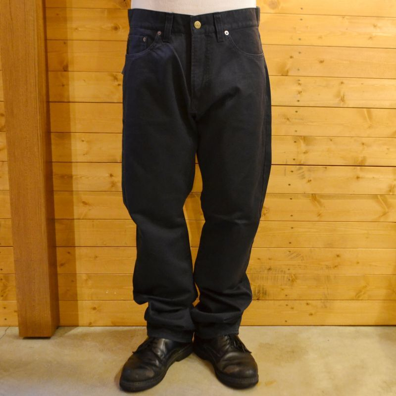 5 POCKET SLIM CHINO PANTS NAVY