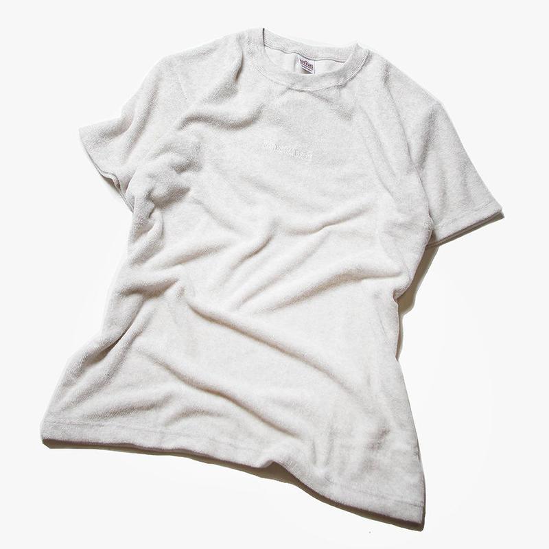 CUTRATE PILE T-SHIRT WHITE