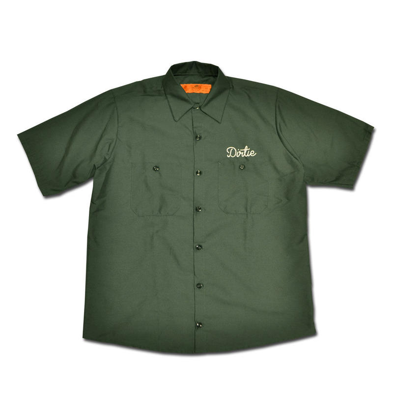 HARDEE NOT SAME WORK SHIRT GREEN