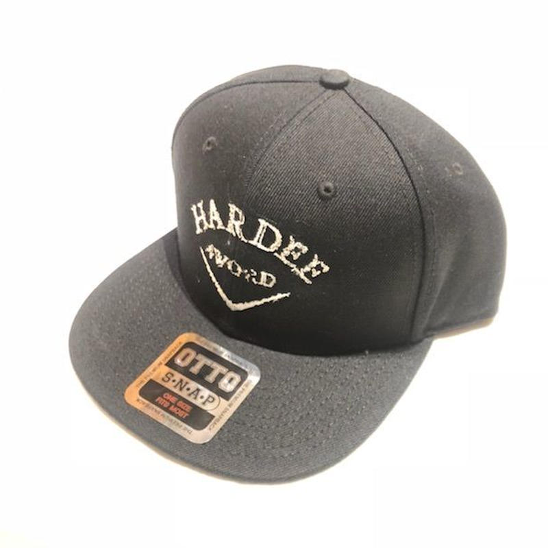 HARDEE 4WORD SNAP JACKET BLACK