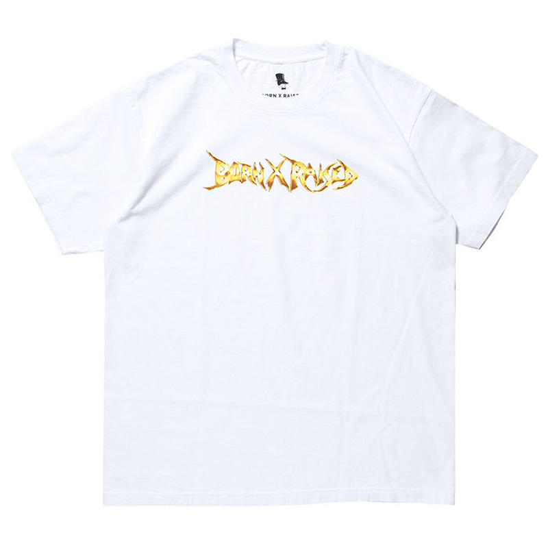 BORN X RAISED STONEY TEE WHITE #34605