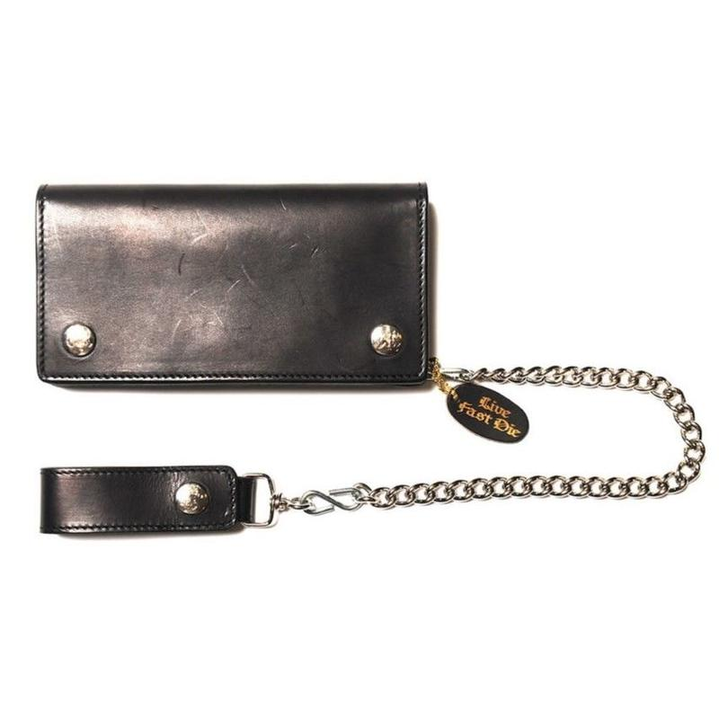 CUT RATE BIKERS WALLET BLACK CR-17AW112