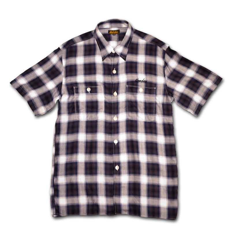 HARDEE OLD MAN S/S SHIRT NAVY