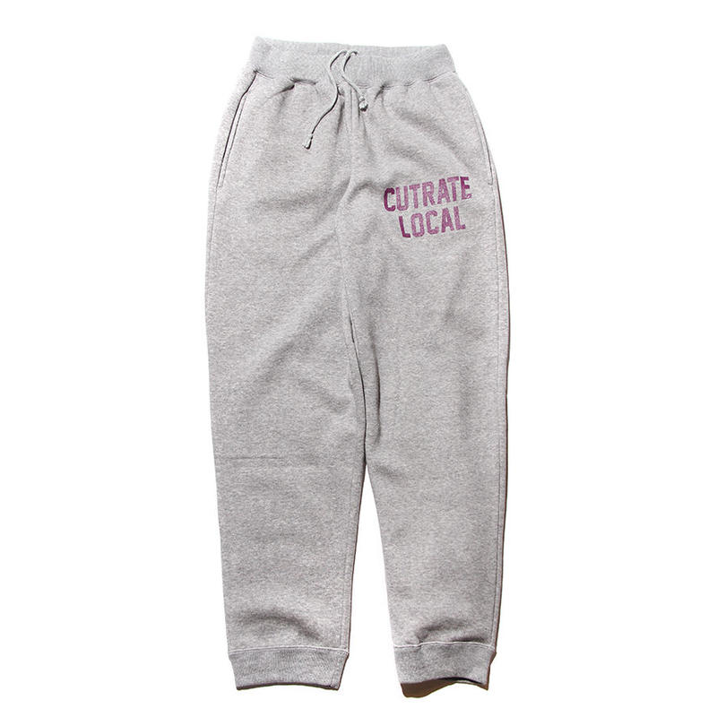 CUTRATE LOGO SWEAT PANTS
