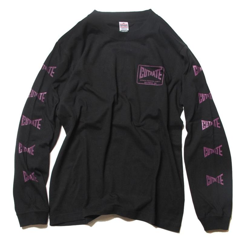CUTRATE KNIFE L/S T-SHIRT BLACK