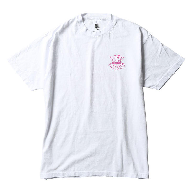 BORN X RAISED WESTSIDE SWAYZE TEE WHITE