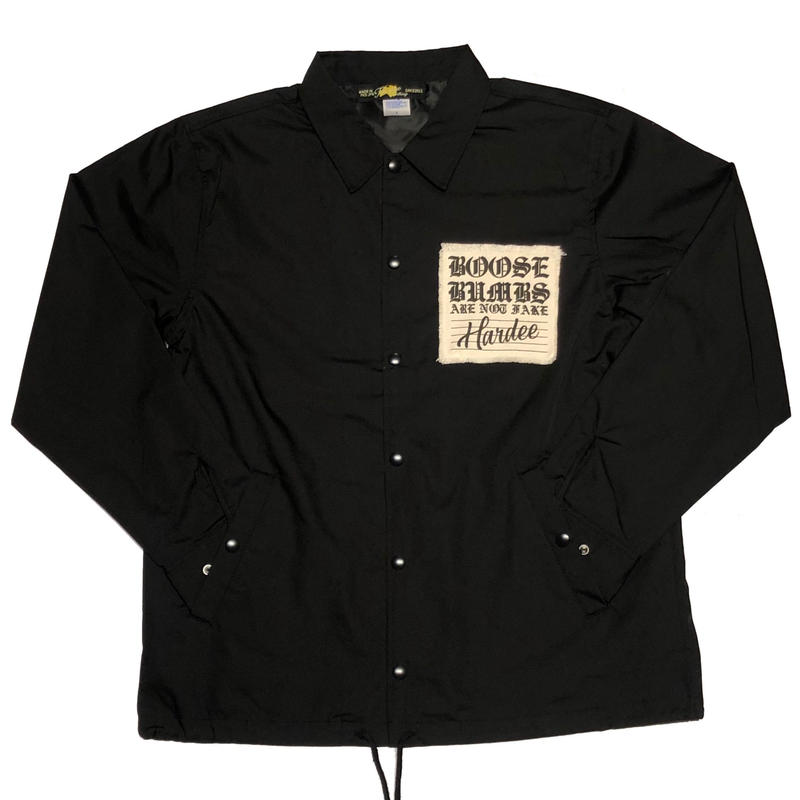 "Hardee ""TWIST"" COACH JACKET  BLACK"