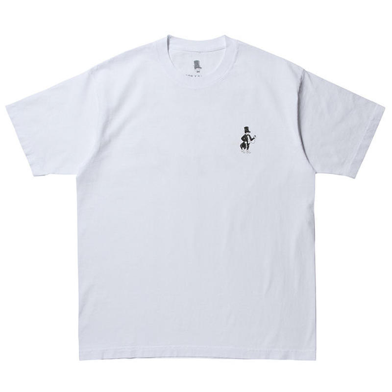 BORN X RAISED SNOOTY FOX TEE WHITE #34602