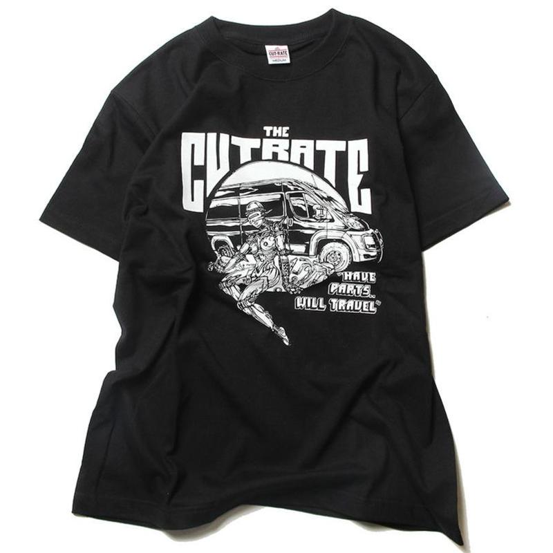 CUTRATE PROMASTER T-SHIRT BLACK