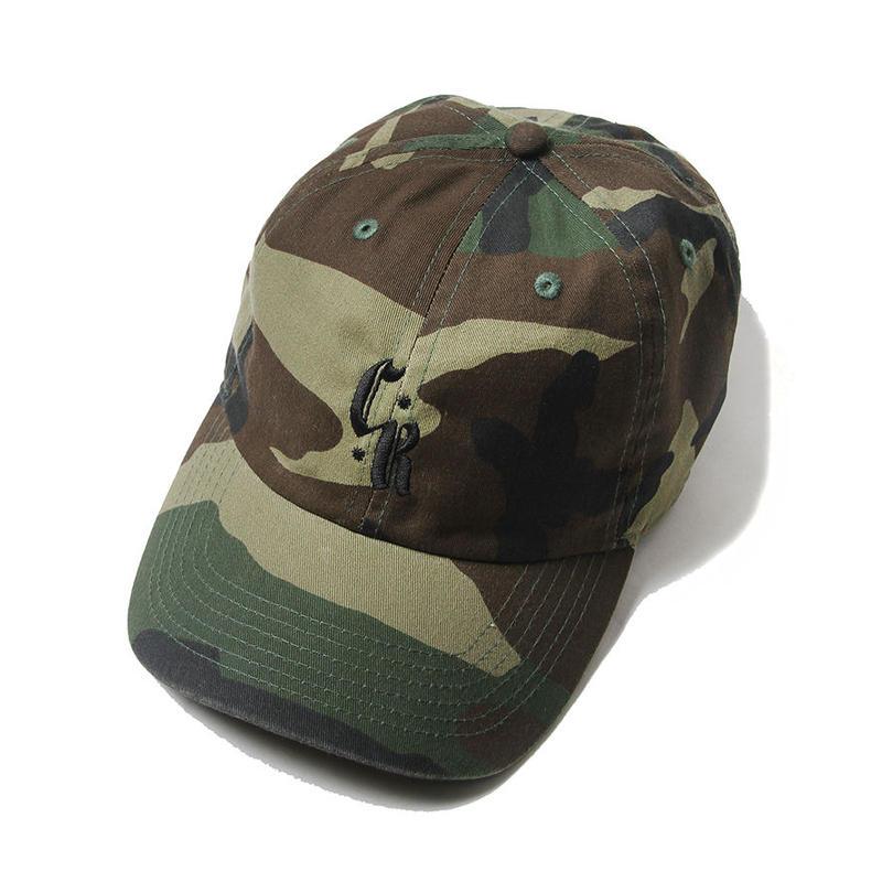 CUTRATE LOGO EMBROIDERY CAP CAMO