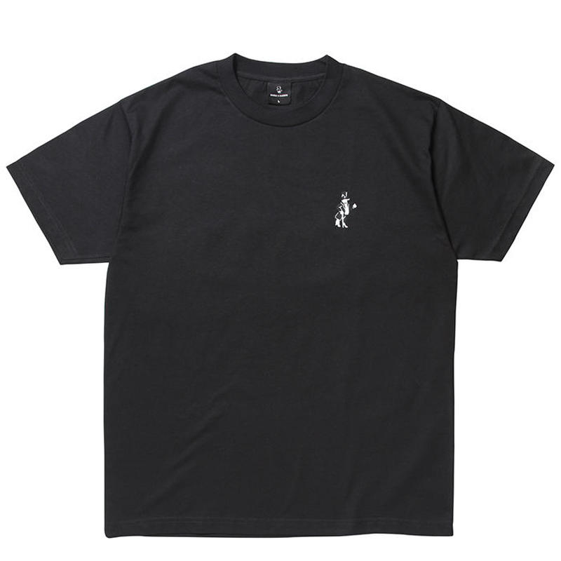BORN X RAISED SNOOTY FOX TEE BLACK #34602