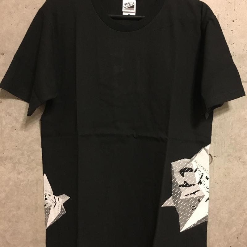 【復刻】Heavenstamp×TomatoコラボTシャツ(黒)