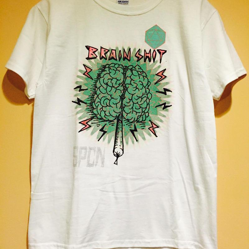 SPCN   brain  shit Tシャツ