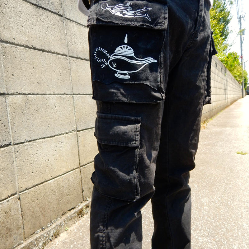 HADOU  REMAKE  USEDPANTS  ハドウ  リメイク  パンツ