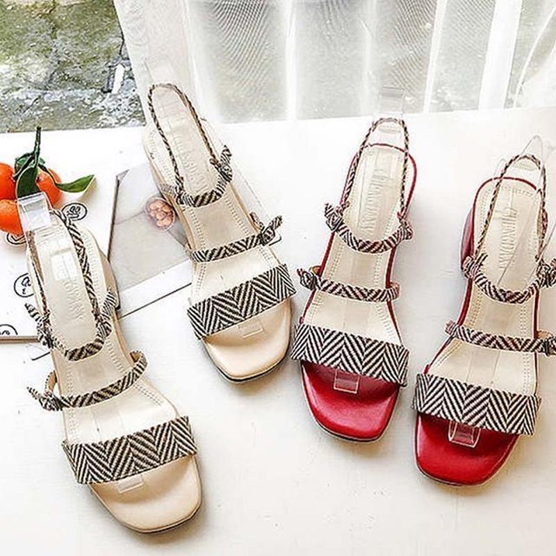 4 strap sandal