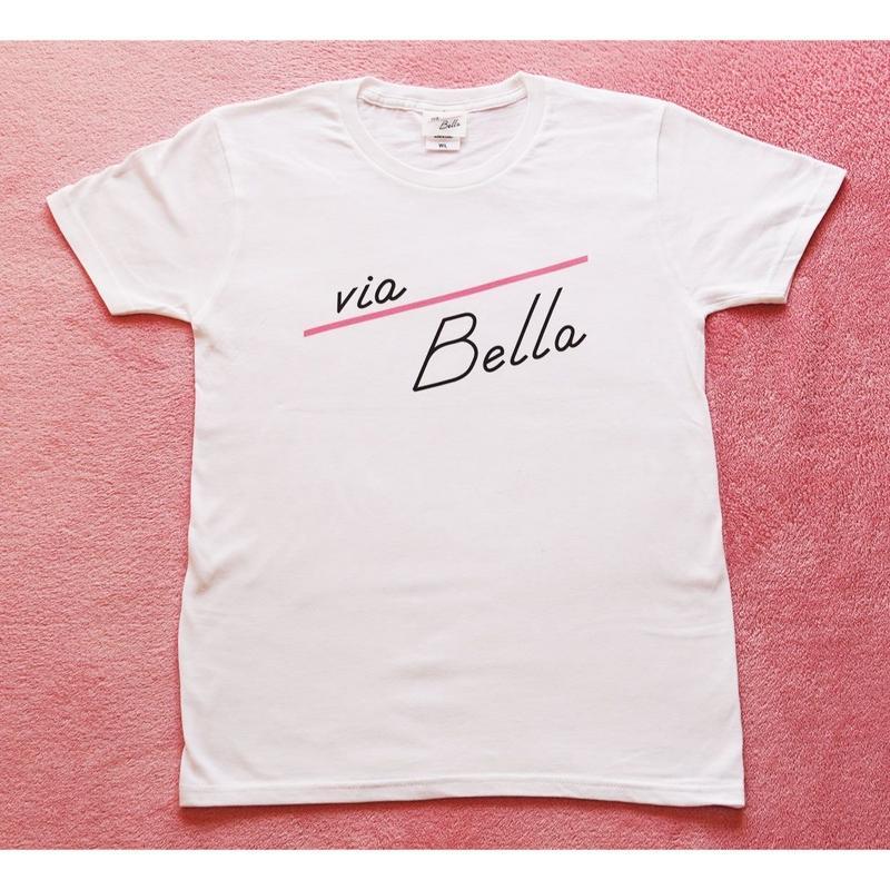 Via Bella Simple White T
