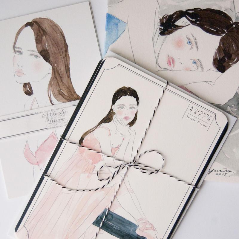 Letter Card Set レターカード3枚セット